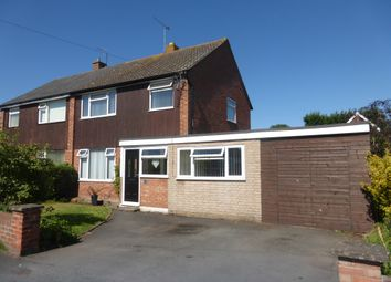Thumbnail 4 bed semi-detached house for sale in St Vincents Close, Lower Bullingham, Hereford
