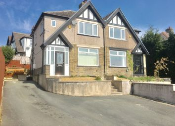 Thumbnail 3 bed semi-detached house for sale in Highroad Well Lane, Halifax