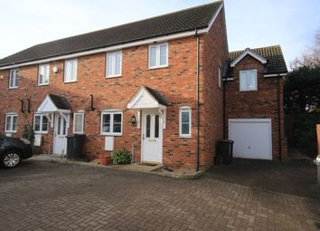 Thumbnail 3 bed end terrace house to rent in Princess Close, Flitwick, Bedford