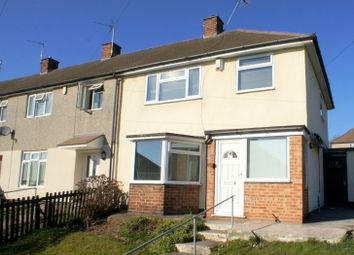 Thumbnail 3 bed end terrace house to rent in Albemarle Road, Chaddesden, Derby