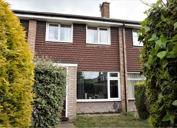 Thumbnail 3 bed terraced house for sale in Chalcombe Close, Little Stoke