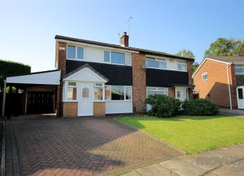 Thumbnail 3 bed semi-detached house for sale in Leyton Drive, Bury