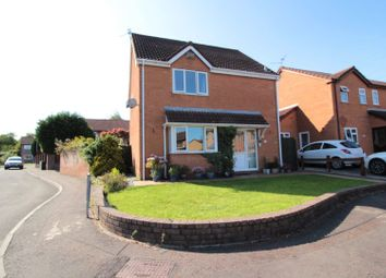Thumbnail 4 bed detached house for sale in Pennyroyal Close, St Mellons