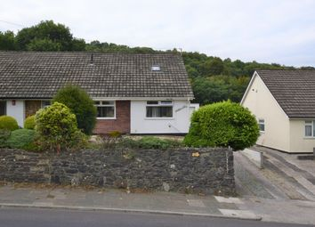 Thumbnail 3 bed semi-detached bungalow for sale in Tamerton Foliot Road, Crownhill, Plymouth