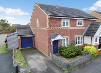 Thumbnail 2 bed semi-detached house for sale in Weavers Green, Sandy