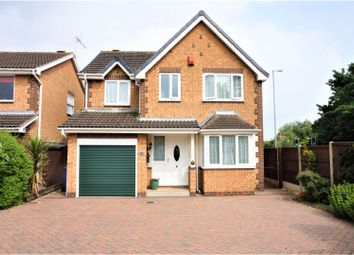Thumbnail 4 bed detached house for sale in Woodhill Avenue, Gainsborough
