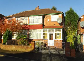 Thumbnail 3 bed semi-detached house to rent in Dovedale Avenue, Prestwich, Prestwich Manchester