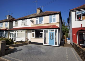 Thumbnail 3 bed semi-detached house for sale in Herbert Road, Shoeburyness, Southend-On-Sea