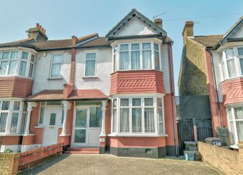 Thumbnail 3 bed end terrace house for sale in Strathyre Avenue, London