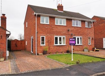 Thumbnail 3 bed semi-detached house for sale in Beech Avenue, Drakes Broughton