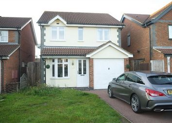 Thumbnail 3 bed detached house to rent in Calshot Avenue, Chafford Hundred, Grays, Essex