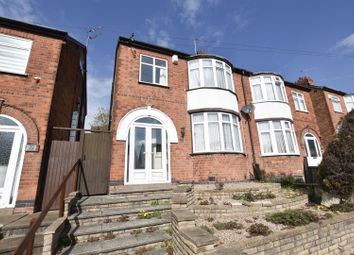 Thumbnail 3 bed semi-detached house for sale in Brian Road, Leicester