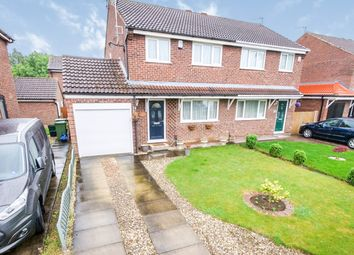Thumbnail 3 bed semi-detached house for sale in Dee Close, York