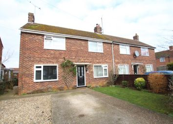 Thumbnail 3 bedroom semi-detached house for sale in Churchill Close, Ely