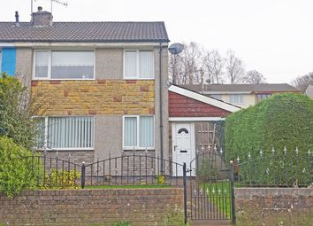 Thumbnail 3 bed semi-detached house for sale in St. Annes Gardens, Maesycwmmer