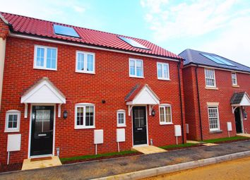 Thumbnail 2 bedroom terraced house to rent in Jeckyll Road, Wymondham