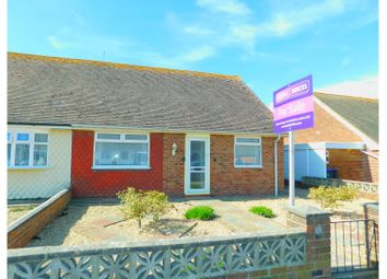 Thumbnail 2 bed semi-detached bungalow for sale in Kings Close, Lancing