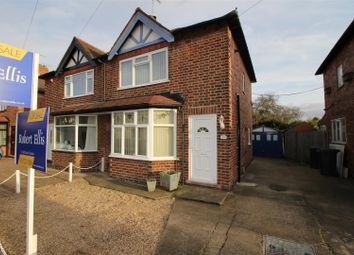 Thumbnail 2 bed semi-detached house for sale in Trevor Road, Beeston, Nottingham