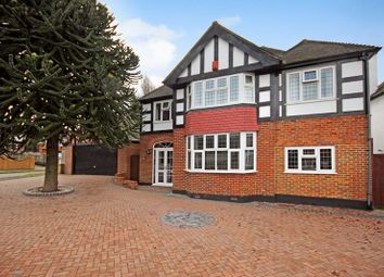 Thumbnail 4 bed detached house for sale in Brambley Road, Cheam