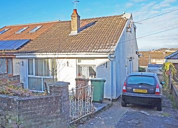 Thumbnail 1 bed semi-detached bungalow for sale in St. Annes Gardens, Maesycwmmer