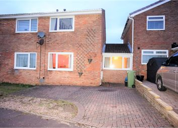 Thumbnail 2 bed semi-detached house to rent in Maes Talcen, Bridgend