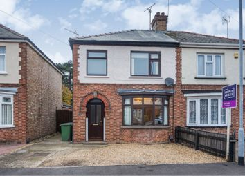 Thumbnail 3 bed semi-detached house for sale in Newlands Avenue, March