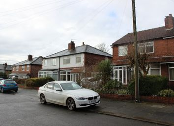 Thumbnail 3 bed semi-detached house to rent in Wyverne Road, Chorlton Cum Hardy, Manchester