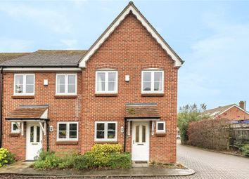 Thumbnail 2 bed end terrace house for sale in Hunts Close, Colden Common, Winchester, Hampshire