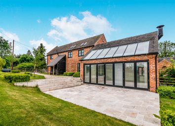 Thumbnail 3 bed barn conversion for sale in Pershall, Eccleshall, Stafford