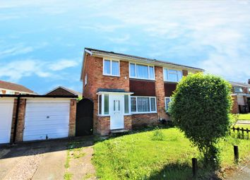 Thumbnail 3 bed semi-detached house to rent in Northdale Close, Kempston
