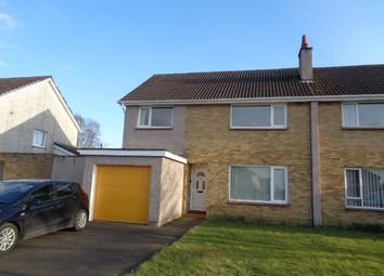 Thumbnail 4 bed semi-detached house for sale in Turnberry Road, Annan