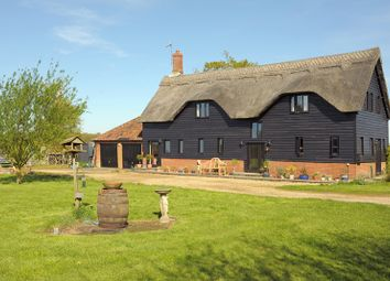 Thumbnail 4 bed barn conversion for sale in Sotterley, Beccles