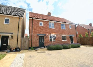 Thumbnail 3 bed semi-detached house for sale in Sycamore Mews, Brightlingsea, Colchester