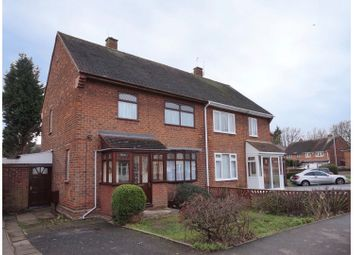 Thumbnail 3 bedroom semi-detached house for sale in Renton Road, Wolverhampton