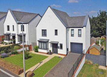 Thumbnail 4 bed detached house for sale in Old Quarry Drive, Exminster, Exeter