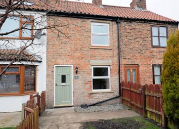 Thumbnail 2 bed terraced house for sale in Siding Lane, Barlby, Selby