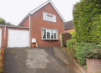 Thumbnail 3 bed detached house for sale in Hencroft, Leek, Staffordshire