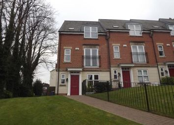 Thumbnail 4 bedroom town house for sale in St. Katherines Court, Derby, Derbyshire