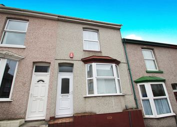 Thumbnail 2 bedroom terraced house for sale in Welsford Avenue, Stoke, Plymouth