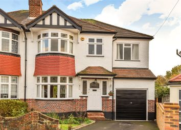 Thumbnail 4 bed semi-detached house for sale in Roundwood Close, Ruislip, Middlesex