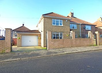 Thumbnail 4 bedroom semi-detached house for sale in Jack Lawson Terrace, Wheatley Hill, Durham