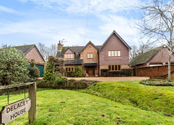 Thumbnail 4 bed detached house for sale in Hinton Road, Hurst, Reading