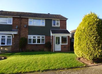 Thumbnail 4 bed semi-detached house for sale in Perrycrofts Crescent, Tamworth, Staffordshire