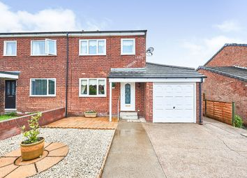 Thumbnail 3 bed semi-detached house for sale in Fellview Drive, Egremont, Cumbria