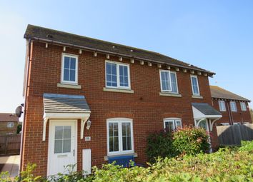 Thumbnail 3 bed property to rent in Cotton Thistle Way, Minster On Sea, Sheerness