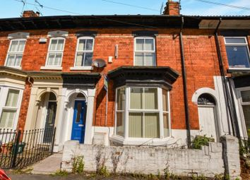 Thumbnail 4 bed terraced house to rent in Hinderwell Street, Princes Avenue, Hull