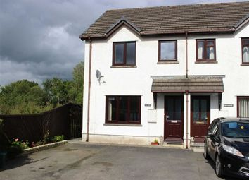 Thumbnail 3 bed semi-detached house for sale in Heol Hathren, Cwmann, Lampeter