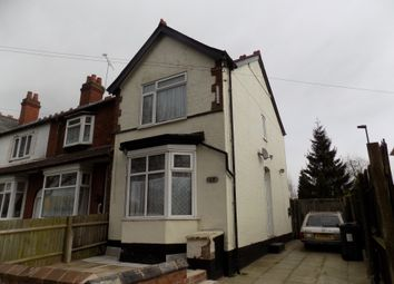 Thumbnail 3 bed end terrace house for sale in Gristhorpe Road, Selly Oak, Birmingham