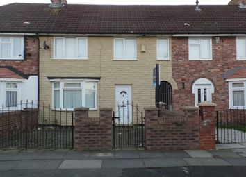 Thumbnail 3 bed town house to rent in Scargreen Avenue, Liverpool