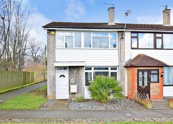 Thumbnail 3 bed end terrace house for sale in Chatham Grove, Chatham, Kent